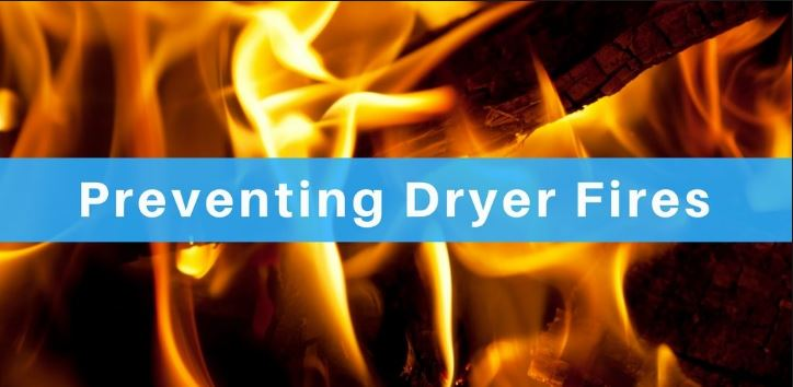 Dryer Vent Fire